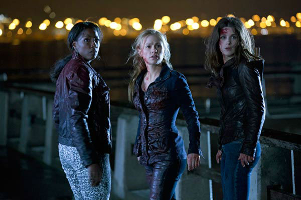 Rutina Wesley, Anna Paquin, Lucy Griffiths appear in a scene from the season 6 premiere of &#39;True Blood,&#39; which airs on June 16 on HBO. <span class=meta>(John P. Johnson &#47; HBO)</span>