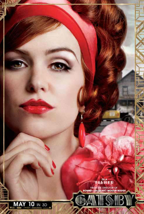 Isla Fisher appears as Myrtle Wilson in an official character poster for the 2013 movie &#39;The Great Gatsby.&#39; <span class=meta>(Warner Bros. Pictures)</span>