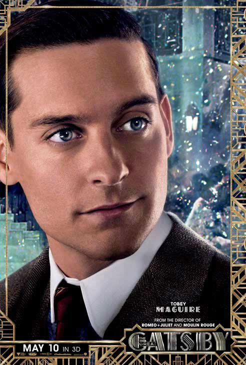 Tobey Maguire appears as Nick Carraway in an official character poster for the 2013 movie &#39;The Great Gatsby.&#39; <span class=meta>(Warner Bros. Pictures)</span>