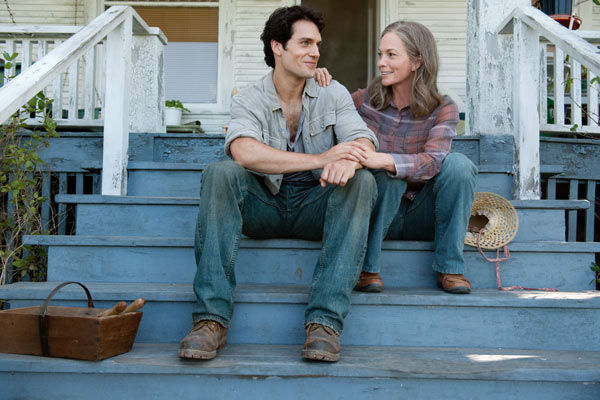 Diane Lane as Martha Kent and Henry Cavill as Clark Kent in Warner Bros. Pictures&#39; and Legendary Pictures&#39; action adventure &#39;Man of Steel,&#39; a Warner Bros. Pictures release. <span class=meta>(Clay Enos &#47; Warner Bros. Pictures)</span>