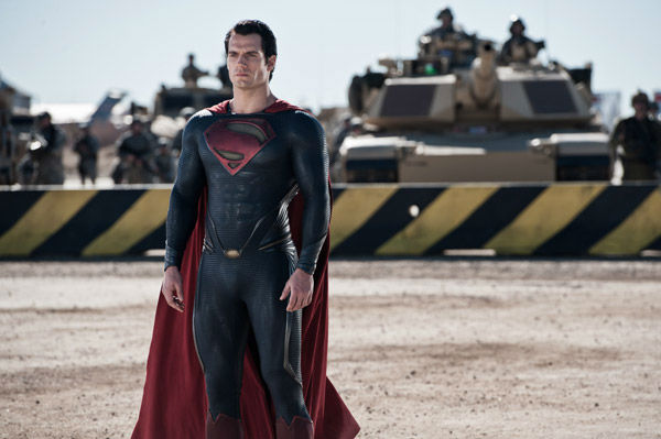 "<div class=""meta image-caption""><div class=""origin-logo origin-image ""><span></span></div><span class=""caption-text"">Henry Cavill as Superman in Warner Bros. Pictures' and Legendary Pictures' action adventure 'Man of Steel,' a Warner Bros. Pictures release. (Clay Enos / Warner Bros. Pictures)</span></div>"