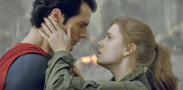 "<div class=""meta ""><span class=""caption-text "">Henry Cavill as Superman and Amy Adams as Lois Lane in Warner Bros. Pictures' and Legendary Pictures' action adventure 'Man of Steel,' a Warner Bros. Pictures release. (Clay Enos / Warner Bros. Pictures)</span></div>"