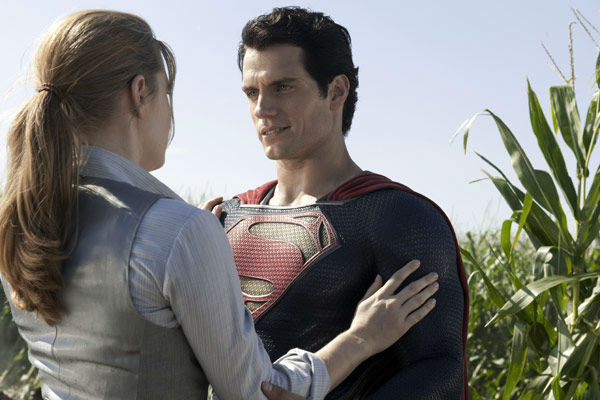 Henry Cavill as Superman and Amy Adams as Lois Lane in Warner Bros. Pictures&#39; and Legendary Pictures&#39; action adventure &#39;Man of Steel,&#39; a Warner Bros. Pictures release. <span class=meta>(Clay Enos &#47; Warner Bros. Pictures)</span>