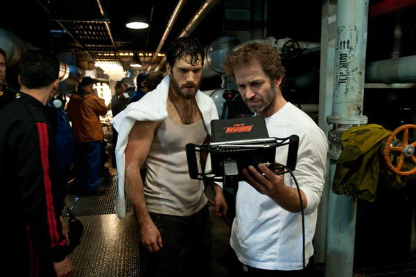 "<div class=""meta ""><span class=""caption-text "">Henry Cavill and Zack Snyder on the set of Warner Bros. Pictures' and Legendary Pictures' action adventure 'Man of Steel,' a Warner Bros. Pictures release. (Clay Enos / Warner Bros. Pictures)</span></div>"
