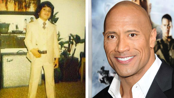 Before Dwayne &#39;The Rock&#39; Johnson found success in Hollywood, he was a normal child from Hayward, California. Johnson went onto become one of the most famous wrestlers in the world, known as &#39;The Rock&#39; for World Wrestling Entertainment, Inc. &#40;WWE&#41;.    Johnson also found success as a action film star, taking on roles in the films &#39;Walking Tall,&#39; &#39;The Other Guys&#39; and the popular &#39;Fast and Furious&#39; series for its fifth and sixth installments alongside Paul Walker and Vin Diesel.    &#40;Pictured: Left -- Dwayne &#39;The Rock&#39; Johnson appears in a photo posted on his official Twitter page on June 20, 2013. Right -- Dwayne &#34;The Rock&#34; Johnson appears at the Los Angeles premiere of &#34;G.I. Joe Retaliation&#34; on March 28, 2013.&#41; <span class=meta>(twitter.com&#47;TheRock &#47; Sara De Boer &#47; startraksphoto.com)</span>