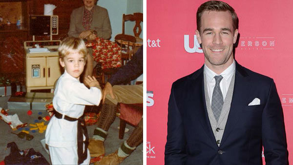 "<div class=""meta image-caption""><div class=""origin-logo origin-image ""><span></span></div><span class=""caption-text"">Former 'Dawson's Creek' star James Van Der Beek was comfortable in front of the camera even as a kid, growing up in Cheshire, Connecticut.  As an actor, Van Der Beek spent six seasons portraying Dawson Leery on the popular WB series 'Dawson's Creek' alongside Joshua Jackson, Michelle Williams and Katie Holmes. The actor most recently starred in the ABC series 'Don't Trust the B---- in Apartment 23' as a fictionalized version of himself.    In August 2013, Van Der Beek and his wife Heather McComb announced they were expecting their third child.    (Pictured: Left -- James Van Der Beek appears in a photo posted on his official Instagram page on July 18, 2013. Right -- James Van Der Beek appears at the Us Weekly Hot Hollywood party on April 18, 2013.) (instagram.com/vanderjames / Giulio Marcocchi / startraksphoto.com)</span></div>"