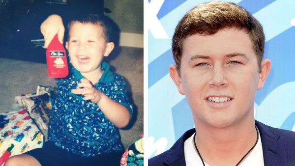 "<div class=""meta image-caption""><div class=""origin-logo origin-image ""><span></span></div><span class=""caption-text"">Even as the season 10 winner of 'American Idol,' Scotty McCreery remained true to his down-home country roots as a kid from Garner, North Carolina. After becoming one of the youngest 'American Idol' winners at age 17, McCreery went onto release his debut album, 'Clear As Day,' which debuted at number one on the Billboard 200 albums chart.   In 2012, McCreery announced that in addition to his music career, he would be attending North Carolina State University.    (Pictured: Left -- Scotty McCreery appears in a photo posted on his official Instagram page on Aug. 15, 2013. Right -- Scotty McCreery appears at the season 12 'American Idol' finale on May 16, 2013.) (instagram.com/scottymccreery / Sara De Boer / startraksphoto.com)</span></div>"