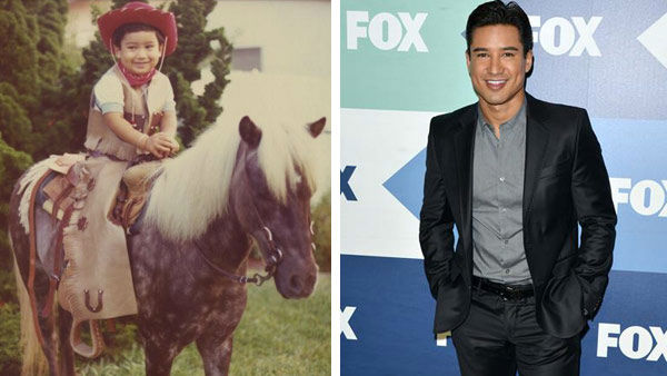 "<div class=""meta image-caption""><div class=""origin-logo origin-image ""><span></span></div><span class=""caption-text"">Television staple Mario Lopez was just a kid in a cowboy hat in San Diego, California before he found his way to Hollywood. In 1989, Lopez began starring in the popular Saturday morning series 'Saved By The Bell' alongside Mark Paul Gosselaar, Tiffani Thiessen and Elizabeth Berkley.   Lopez went onto appear in numerous guest roles on television before taking a turn in the 'Dancing With The Stars' ballroom during season 3, finishing in second place with partner Karina Smirnoff. Lopez is currently host of the entertainment news program 'Extra' and FOX's 'The X Factor.'    (Pictured: Left -- Mario Lopez appears in a photo posted on his official Twitter page on Aug. 15, 2013. Right -- Mario Lopez appease at the FOX Summer TCA All-Star Party in Los Angeles, California on Aug. 1, 2013.) (twitter.com/MarioLopezExtra / Tony Dimaio / startraksphoto.com)</span></div>"