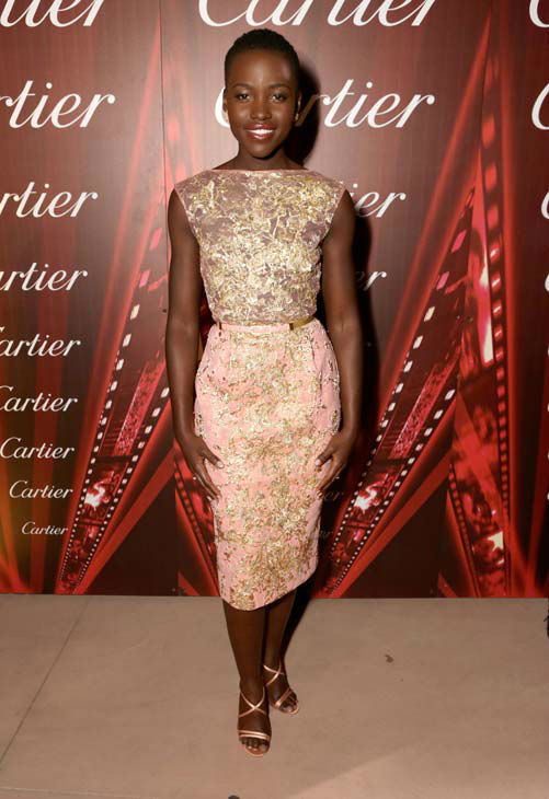 Actress Lupita Nyong&#39;o arrives at the 25th annual Palm Springs International Film Festival awards gala at Palm Springs Convention Center on January 4, 2014 in Palm Springs, California. <span class=meta>(Jeff Vespa&#47;Getty Images for PSFF)</span>