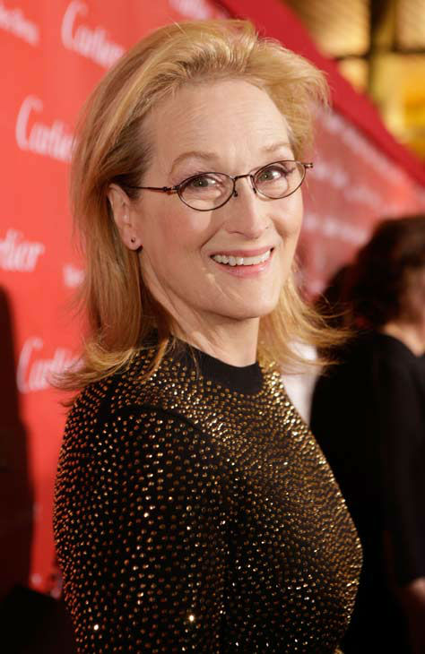 Meryl Streep arrives at the 25th annual Palm Springs International Film Festival awards gala at Palm Springs Convention Center on January 4, 2014 in Palm Springs, California. <span class=meta>(Jeff Vespa&#47;Getty Images for PSIFF)</span>