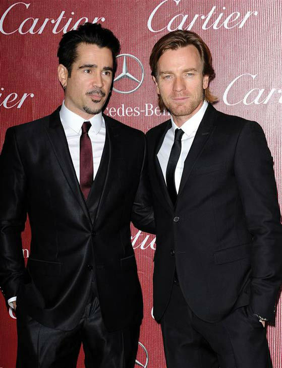 Colin Farrell and Ewan McGregor appear at the 2014 Palm Springs International Film Festival Awards Gala on Jan. 4, 2013. <span class=meta>(Daniel Robertson&#47;startraksphoto.com)</span>