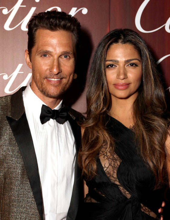 Matthew McConaughey and Camila Alves appear at the 2014 Palm Springs International Film Festival Awards Gala on Jan. 4, 2013. <span class=meta>(Jeff Vespa&#47;Getty Images for PSFF)</span>