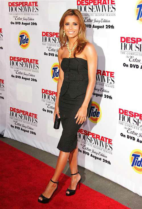 "<div class=""meta ""><span class=""caption-text "">Eva Longoria appears at the 'Desperate Housewives' season 2 DVD launch party in Los Angeles, California on Aug. 5, 2006.  (Jen Lowery / startraksphoto.com)</span></div>"