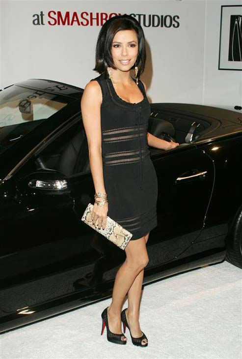 Eva Longoria appears at Mercedes-Benz Fashion Week in Los Angeles, California on March 18, 2007.  <span class=meta>(Andy Fossum &#47; startraksphoto.com)</span>