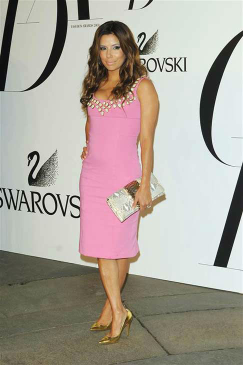 Eva Longoria appears at the 2008 CFDA Awards in New York City on June 2, 2008. <span class=meta>(Bill Davila &#47; startraksphoto.com)</span>