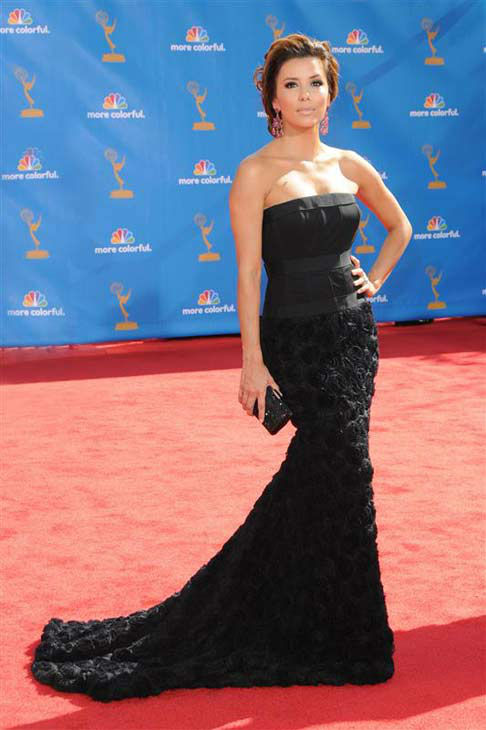 "<div class=""meta ""><span class=""caption-text "">Eva Longoria appears at the 62nd annual Primetime Emmy Awards in Los Angeles, California on Aug. 29, 2010.  (Kyle Rover / startraksphoto.com)</span></div>"