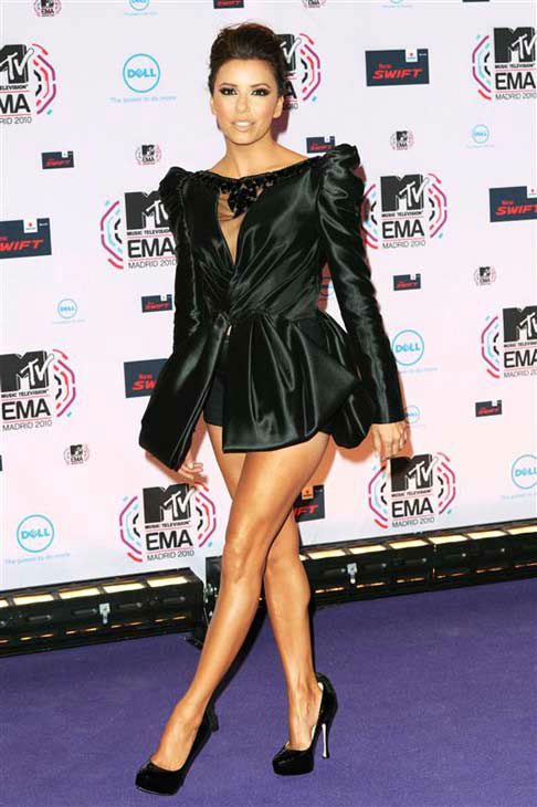 Eva Longoria appears at the MTV Europe Music Awards on Nov. 7, 2010.  <span class=meta>(Nick Sadler &#47; startraksphoto.com)</span>