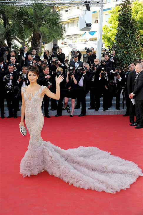 Eva Longoria appears at the 65th annual Cannes Film Festival opening ceremony and premiere of &#39;Moonrise Kingdom&#39; on May 16, 2012. <span class=meta>(Simone Comi &#47; startraksphoto.com)</span>