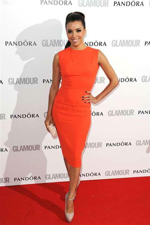 Eva Longoria appears at Glamour Magazine&#39;s 2012 Women of the Year Awards in London, England on May 29, 2012. <span class=meta>(Nick Sadler &#47; startraksphoto.com)</span>