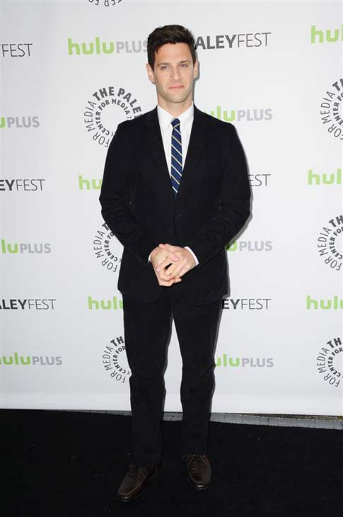 Justin Bartha appears at the 30th annual PaleyFest in Los Angeles, California on March, 6, 2013.