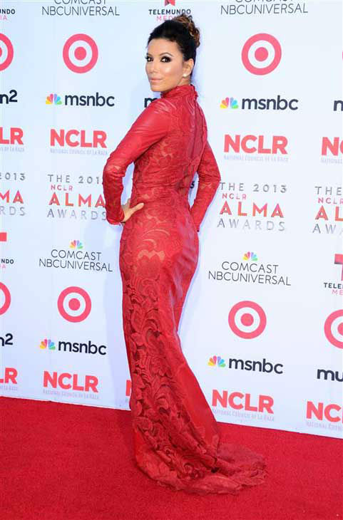 "<div class=""meta ""><span class=""caption-text "">Eva Longoria appears at the 2013 NCLR ALMA Awards in Pasadena, California on Sept. 27, 2013.  (Sara De Boer / startraksphoto.com)</span></div>"