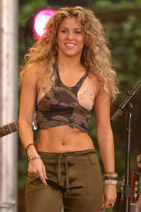 Shakira appears on &#39;Good Morning America&#39; in New York City on June 3, 2005. <span class=meta>(Philbert Hazelnut &#47; startraksphoto.com)</span>