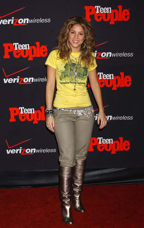 Shakira appears at the Teen People&#39;s Artists of the Year Party in Los Angeles, California on Nov. 22, 2005.  <span class=meta>(Albert L. Ortega &#47; startraksphoto.com)</span>