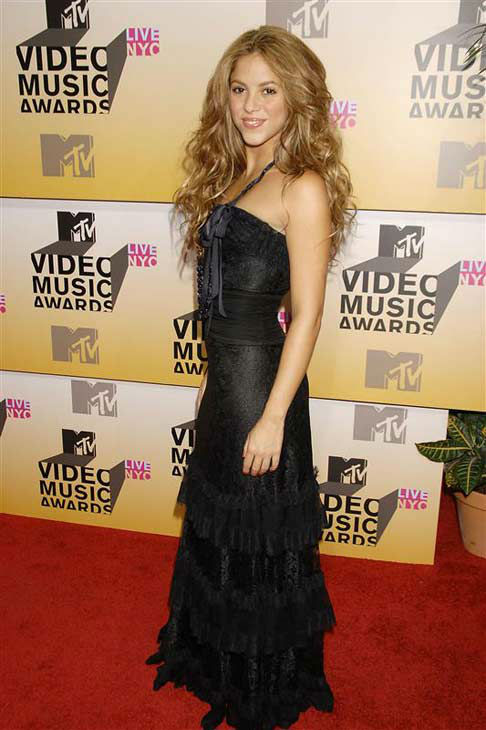 Shakira appears at the 2006 MTV Video Music Awards in New York City on Aug. 31, 2006. <span class=meta>(Bill Davila &#47; startraksphoto.com)</span>