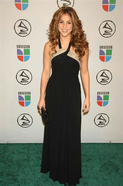 "<div class=""meta ""><span class=""caption-text "">Shakira appears at the 7th annual Latin Grammy Awards in New York City on Nov. 2, 2006. (Bill Davila / startraksphoto.com)</span></div>"