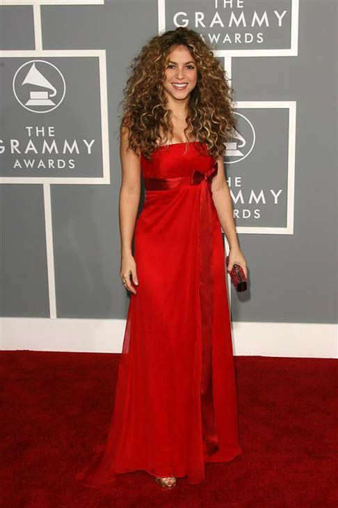Shakira appears at the 49th annual Grammy Awards in Los Angeles, California on Feb. 11, 2007.  <span class=meta>(Jen Lowery &#47; startraksphoto.com)</span>