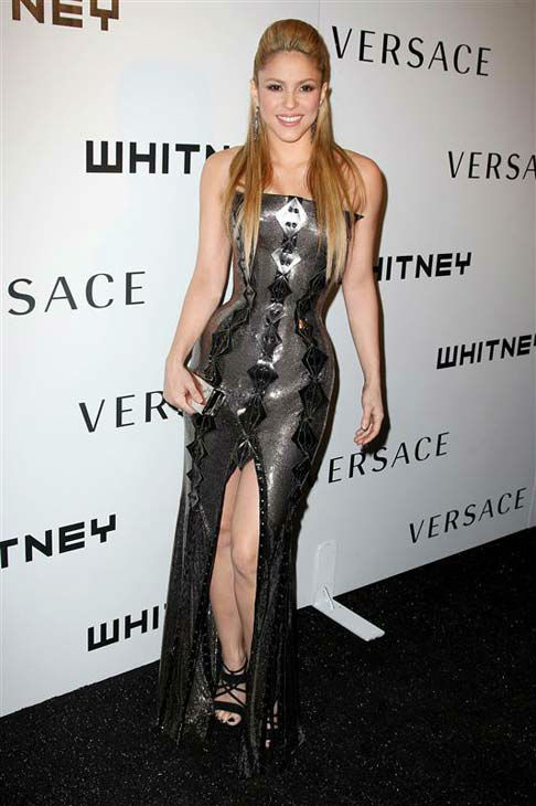 Shakira appears at The Whitney Museum of American Art&#39;s Gala and Studio Party in New York City on Oct. 19, 2009. <span class=meta>(Amanda Schwab &#47; startraksphoto.com)</span>