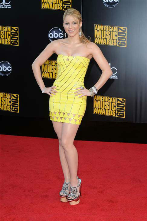 Shakira appears at the 2009 American Music Awards in Los Angeles, California on Nov. 22, 2009.  <span class=meta>(Sara De Boer &#47; startraksphoto.com)</span>