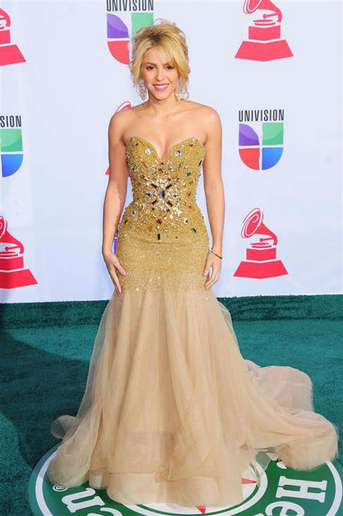 Shakira appears at the 12th annual Latin Grammy Awards in Las Vegas, Nevada on Nov. 10, 2011.  <span class=meta>(Dave Proctor &#47; startraksphoto.com)</span>