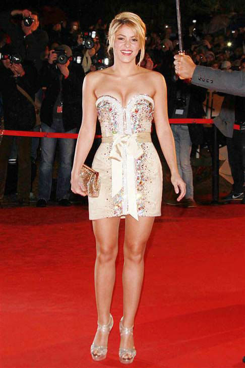 Shakira appears at the 13th annual NRJ Music Awards in Cannes, France on Jan. 28, 2012.  <span class=meta>(Gorassini-Guignebourg &#47; startraksphoto.com)</span>