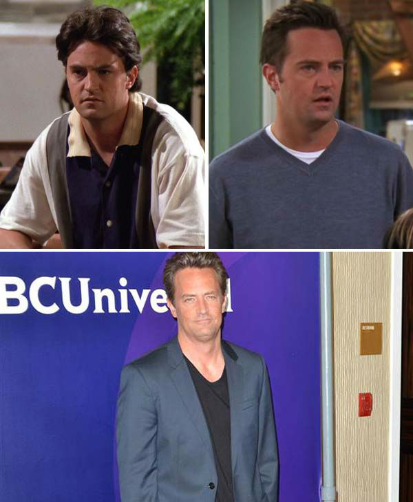 "<div class=""meta image-caption""><div class=""origin-logo origin-image ""><span></span></div><span class=""caption-text"">Matthew Perry portrayed Chandler Bing on 'Friends.' Bing was often the joker of the group, who couldn't help himself but make light of any situation, be it awkward or serious, without getting in some kind of joke or one-liner. Once Ross' (Schwimmer) roommate in college, Bing receives a rude awakening when Ross finds out he and Monica (Cox), his sister, are a couple. After initially being shocked, Ross accepts their relationship, which ultimately led to the two becoming married and parents.   Bing was known for saying everything with emphasis and vigor, with famous lines such as, 'Could I BE wearing anymore clothes?' and 'THIS PARACHUTE IS A NAPSACK.'   After 'Friends' wrapped, Perry starred in several television shows that last just one season, including 'Studio 60 on the Sunset Strip,' 'Mr. Sunshine' and 'Go On.' In 2012, he guest starred on the popular CBS show 'The Good Wife.' Perry has also starred in several films, including 'The Whole Nine Yards' and '17 Again' with Zac Efron.   Perry is unmarried, though has been romantically linked to several actresses, including most recently Lizzy Caplan. He has also been vocal about his struggles with prescription drug addiction, for which he has entered rehab for in the past.   (Pictured: Matthew Perry appears in stills from season 1 and 10 from the NBC series 'Friends.' Matthew Perry appears at the 2012 NBC Universal Summer Press Tour in Los Angeles, California on July 24, 2012.) (NBC / Tony DiMaio / startraksphoto.com)</span></div>"