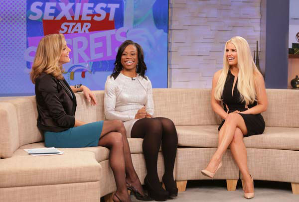 Jessica Simpson appears on &#39;Good Morning America&#39; on Jan. 7, 2014. <span class=meta>(ABC Photo&#47; Fred Lee)</span>