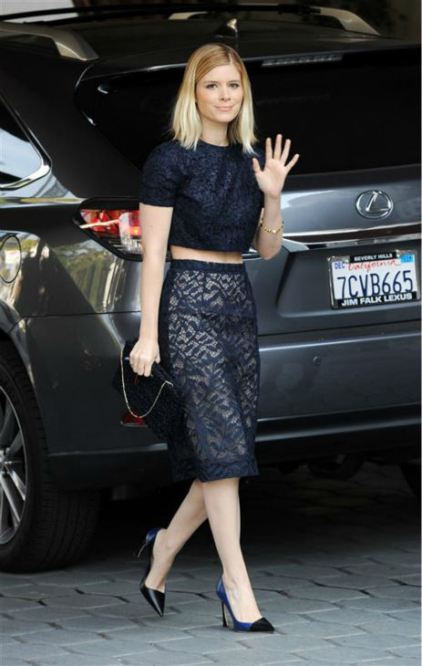 Kate Mara arrives at a celebrity luncheon at the Sunset Towers hotel in West Hollywood, California on Jan. 8, 2014. <span class=meta>(Daniel Robertson &#47; Startraksphoto.com)</span>