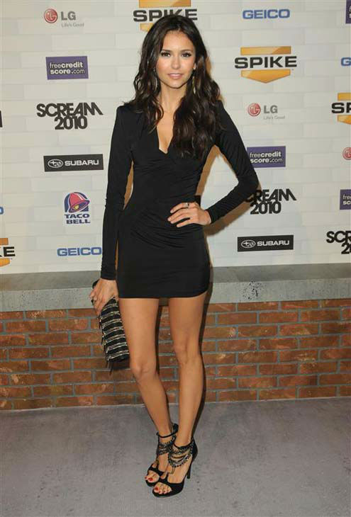Nina Dobrev appears at the 2010 Spike TV Scream Awards in Los Angeles, California on Oct. 16, 2010.  <span class=meta>(Sara De Boer &#47; startraksphoto.com)</span>
