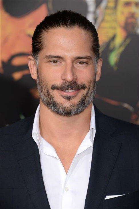 The &#39;My-Hair-Looks-Sexy-Pushed-Back&#39; stare: Joe Manganiello appears at the premiere of &#39;The Last Stand&#39; in Hollywood, California on Jan. 14, 2013. <span class=meta>(Giulio Marcocchi &#47; Startraksphoto.com)</span>