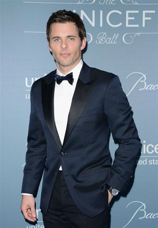 James Marsden appears at the 2014 UNICEF Ball in Beverly Hills, California, on Jan. 14, 2013. <span class=meta>(Lionel Hahn&#47;AbacaUSA&#47;startraksphoto.com)</span>