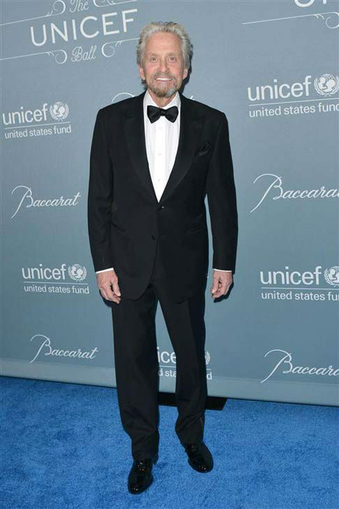 Michael Douglas appears at the 2014 UNICEF Ball in Beverly Hills, California, on Jan. 14, 2013. <span class=meta>(Tony DiMaio&#47;startraksphoto.com)</span>