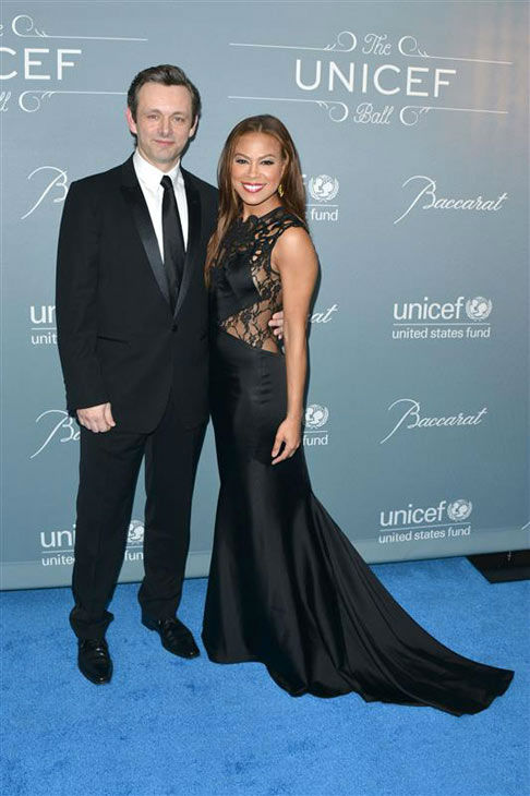 Michael Sheen and Toni Trucks appear at the 2014 UNICEF Ball in Beverly Hills, California, on Jan. 14, 2013.  <span class=meta>(Tony DiMaio&#47;startraksphoto.com)</span>