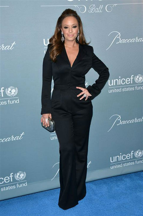 "<div class=""meta ""><span class=""caption-text "">Leah Remini appears at the 2014 UNICEF Ball in Beverly Hills, California, on Jan. 14, 2013. (Tony DiMaio/startraksphoto.com)</span></div>"