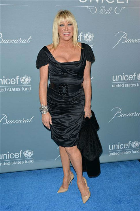 Suzanne Somers appears at the 2014 UNICEF Ball in Beverly Hills, California, on Jan. 14, 2013. <span class=meta>(Tony DiMaio&#47;startraksphoto.com)</span>