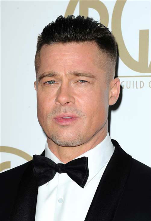 "<div class=""meta image-caption""><div class=""origin-logo origin-image ""><span></span></div><span class=""caption-text"">Brad Pitt appears at the 25th annual Producer's Guild Awards (PGAs) in Los Angeles, California on Jan. 19, 2014.  (Sara De Boer / startraksphoto.com)</span></div>"