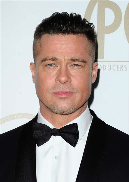 Brad Pitt appears at the 25th annual Producer's Guild Awards (PGAs) in Los Angeles, California on Jan. 19, 2014.