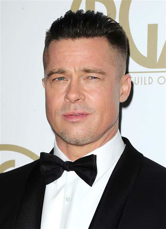 "<div class=""meta ""><span class=""caption-text "">Brad Pitt appears at the 25th annual Producer's Guild Awards (PGAs) in Los Angeles, California on Jan. 19, 2014.  (Sara De Boer / startraksphoto.com)</span></div>"