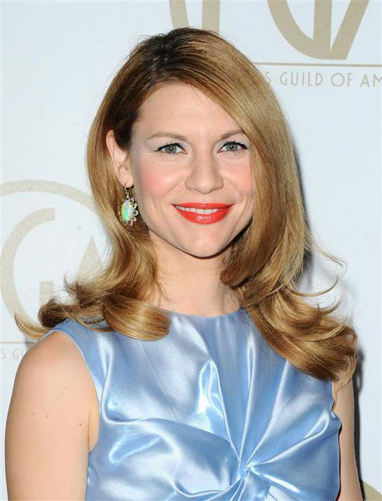 "<div class=""meta ""><span class=""caption-text "">Claire Danes appears at the 25th annual Producer's Guild Awards (PGAs) in Los Angeles, California on Jan. 19, 2014.  (Sara De Boer / startraksphoto.com)</span></div>"