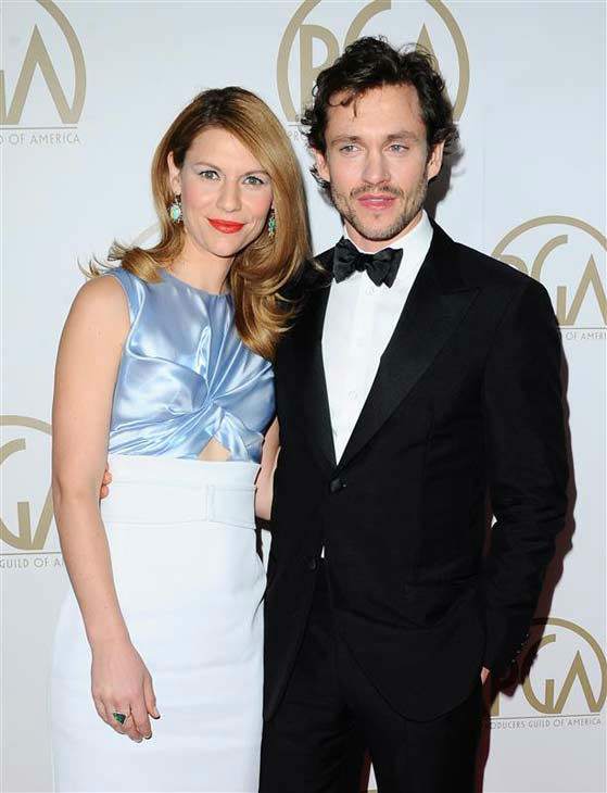 "<div class=""meta ""><span class=""caption-text "">Claire Danes and Hugh Dancy appear at the 25th annual Producer's Guild Awards (PGAs) in Los Angeles, California on Jan. 19, 2014. (Sara De Boer / startraksphoto.com)</span></div>"