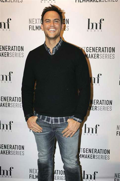 Cheyenne Jackson appears at an event at the 2014 Sundance Film Festival in Park City, Utah on Jan. 18, 2014. <span class=meta>(Seth Browarnik &#47; startraksphoto.com)</span>